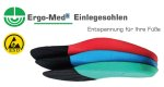 Ergo-Med® ® Semelles int. GREElow, pour
