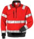 High Vis Zipper-Sweathirt     Kl. 3 728 SHV EN 204